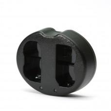 Зарядное устройство PowerPlant Dual Nikon EN-EL20 для двух аккумуляторов